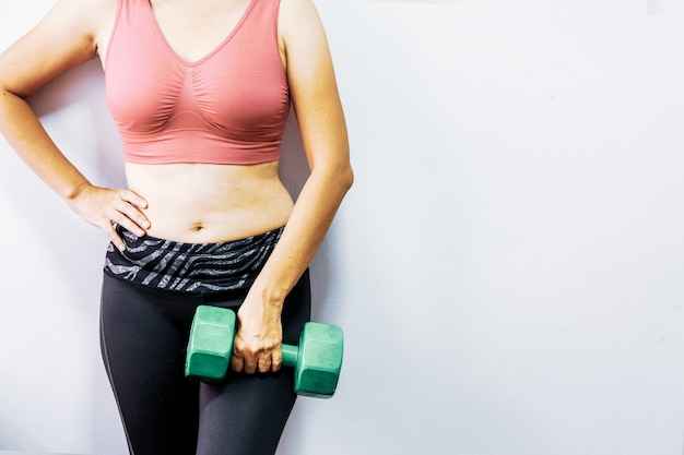 Women with obesity want to exercise to be healthy.