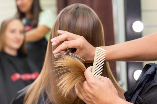 Женский салон красоты парикмахер