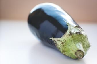 Wonderful healthy eggplant detail