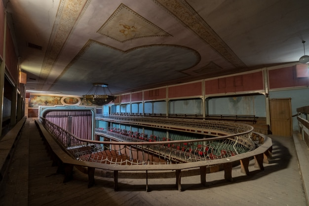 A wonderful old theater, now abandoned.