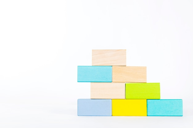 Wood block for kid