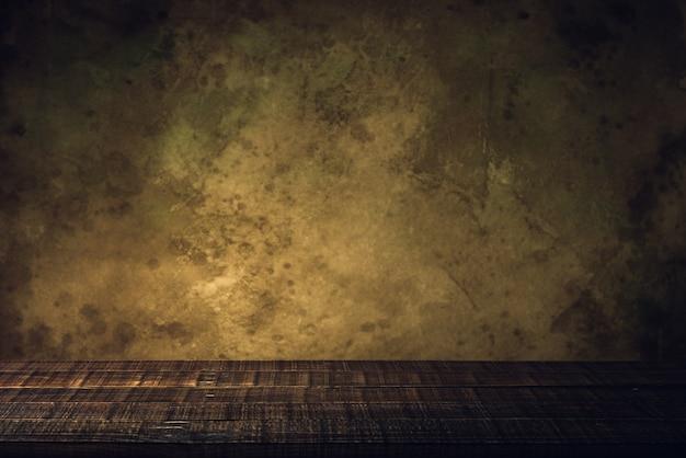 木の床と古い紙ヴィンテージ古くなった背景やテクスチャ