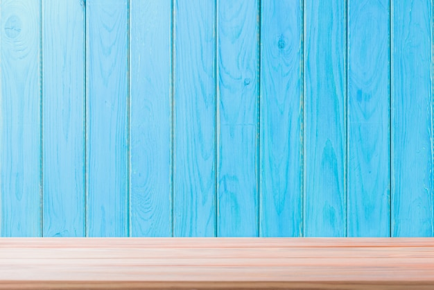Wood floor background beautiful sheet vintage alignment blue texture with natural pattern
