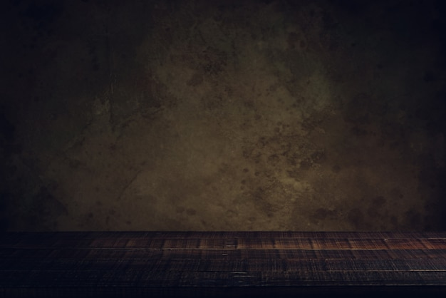 Wood floor and old paper vintage aged background or texture