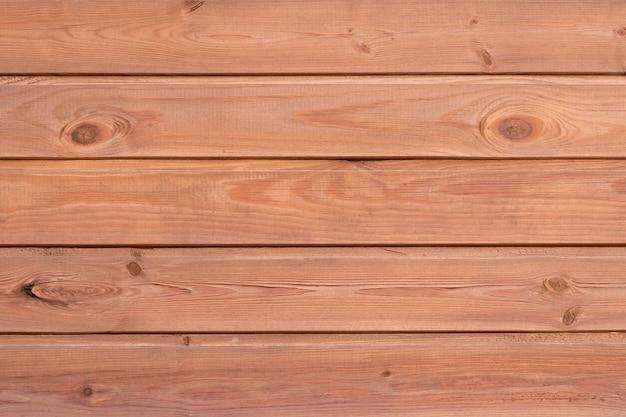 木目テクスチャ、古い木製の壁の背景、板の表面。板、茶色の机、素朴な床のヴィンテージオークテーブル。