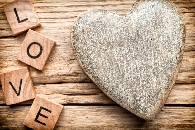 Деревянное сердце.