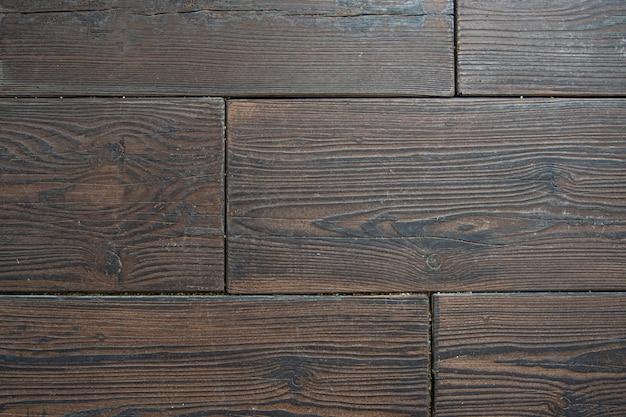 Wood imitation on concrete floor background