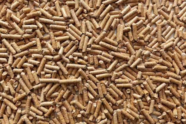 Фон древесных гранул