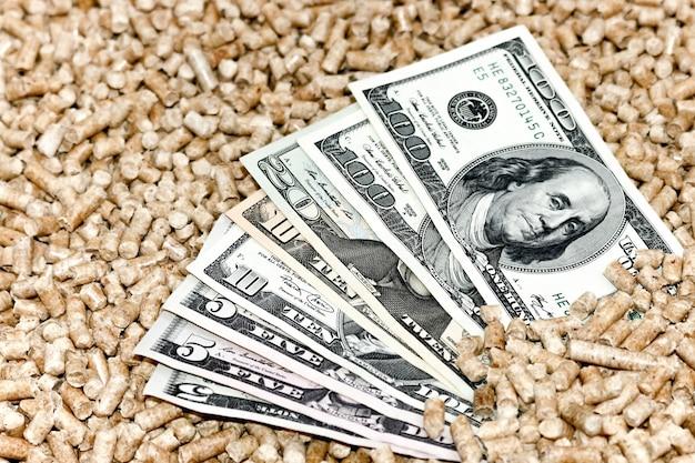 Древесные пеллеты и денежная концепция экономии