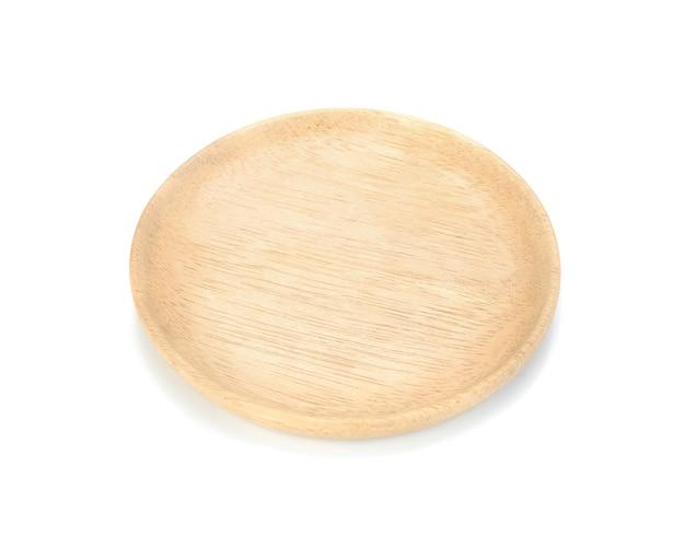 Wood plate.