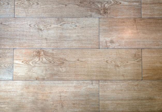 Wood slat floor piece background