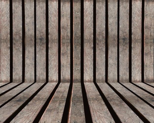 Wood slat old brown textured background