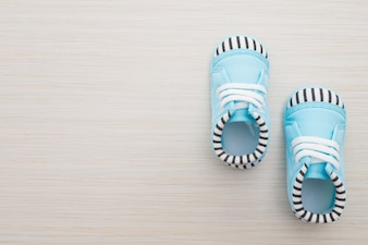 Wood sneakers day pacifier sport