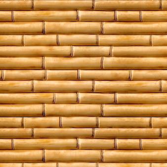 ウッドテクスチャ、背景天然素材、竹の茶色のシームレステクスチャ