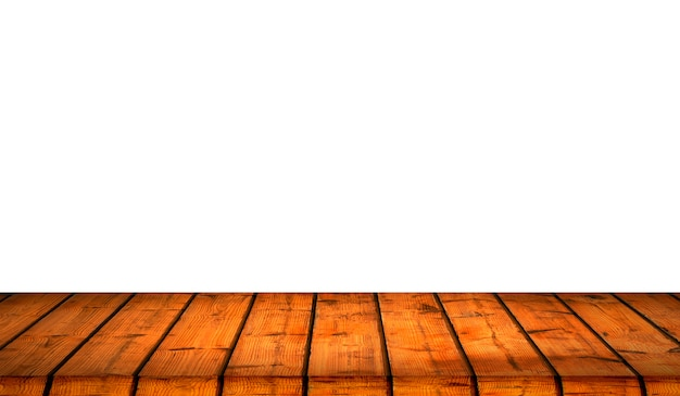 Wood texture background with white isolate background