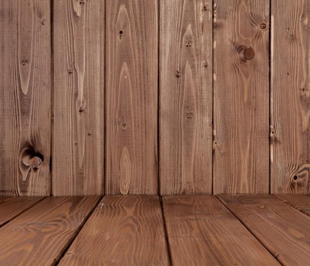 Wood texture, natural dark brown wooden background