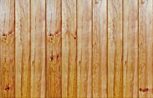 茶色の古いパネルの木目テクスチャ