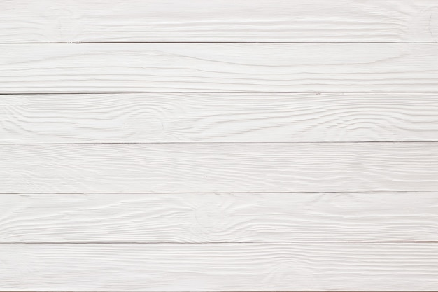Wood texture painted with whitewash, empty wooden surface as a wall