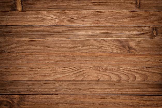 ウッドテクスチャ板粒背景、木製のデスクテーブルまたは床、古いストライプの木材ボード