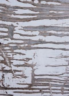ひびの入った古いペンキと木の質感