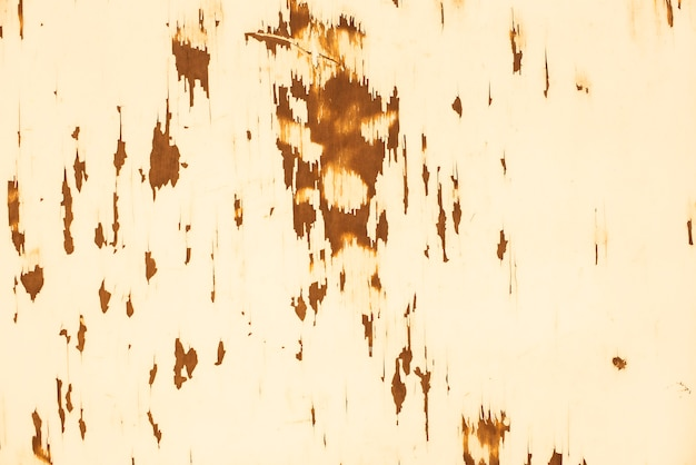 Wood texture with orange flaked paint