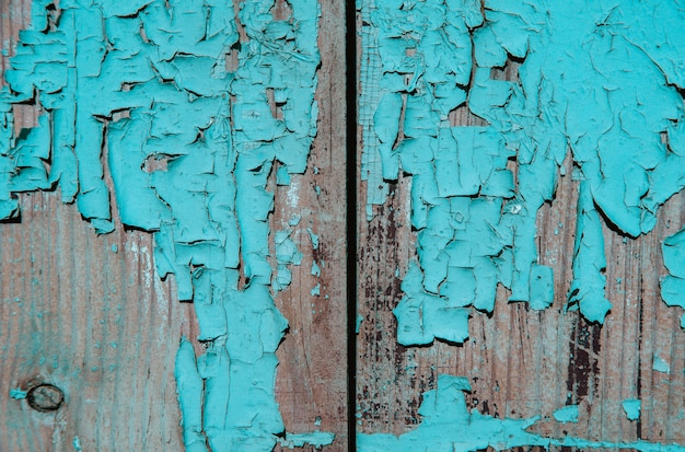 Wood texture with peeling paint