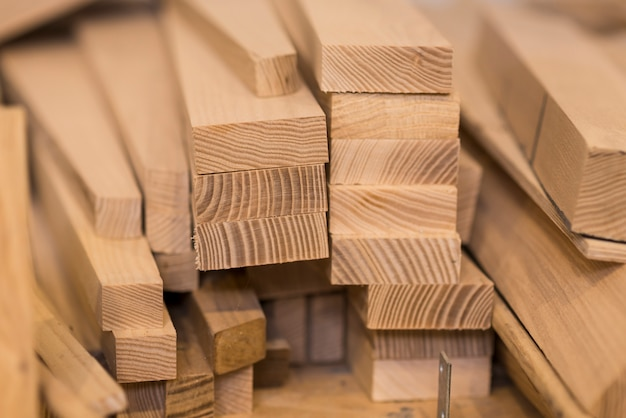 Wood timber construction material