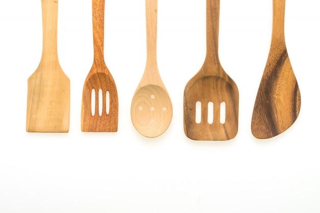 Wood utensils