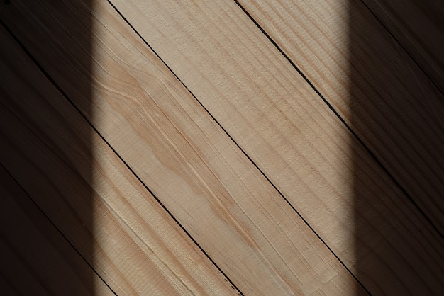 Wood wall texture with shadow border for design