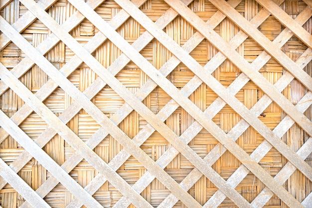木の織りのテクスチャの背景。壁に木製の直線をカットします。