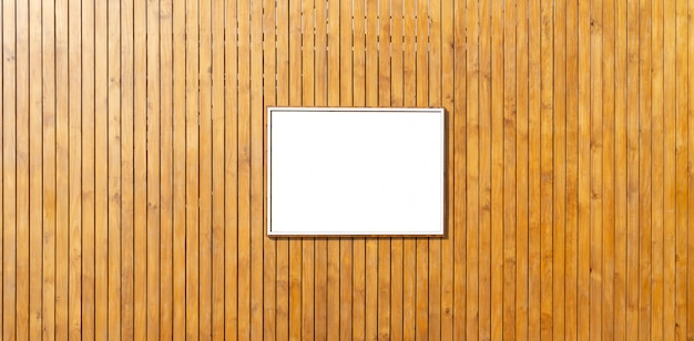 Wooden backdrop with black space.