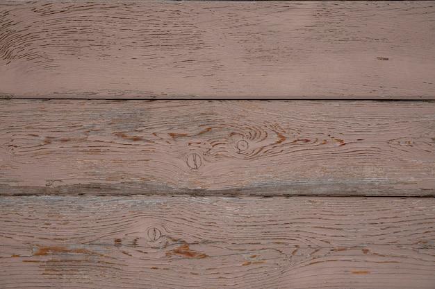 Деревянный фон из горизонтальных коричневых досок. текстура дерева.