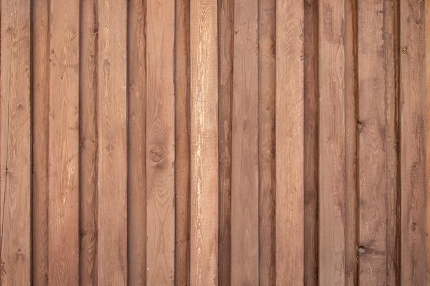 Деревянный фон из вертикально расположенных досок, текстура древесины с копией пространства
