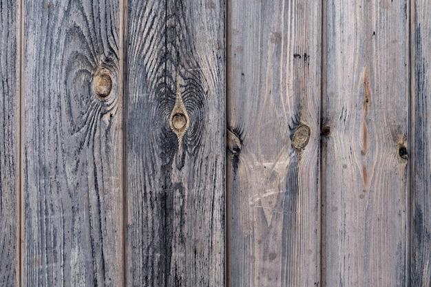 コピースペースと灰色の古いボードの木製の背景。木の質感。
