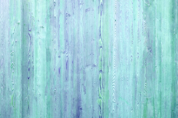 Wooden background in turquoise and blue colors