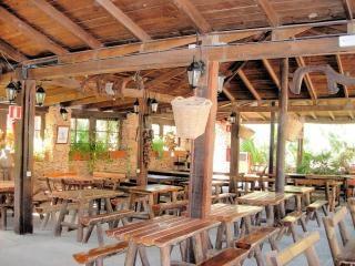 Wooden bar in fuerteventura