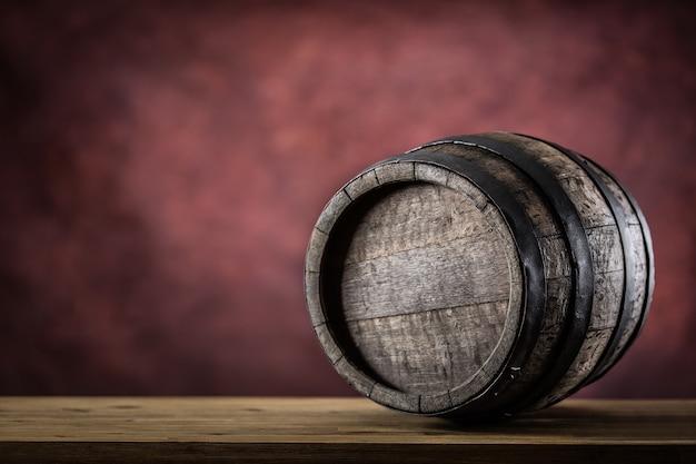 Wooden barel for beer vine whiskey brandy or cognac