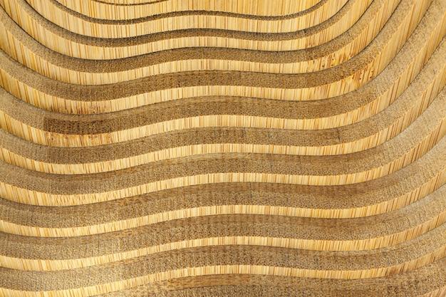 木製バスケットテクスチャ背景。