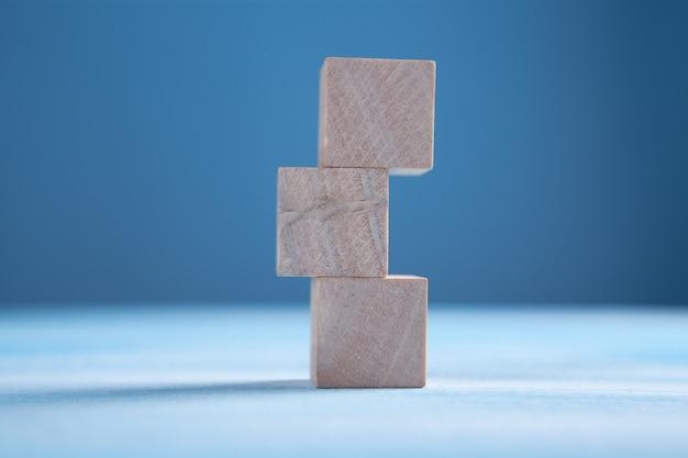 Стек деревянных блоков