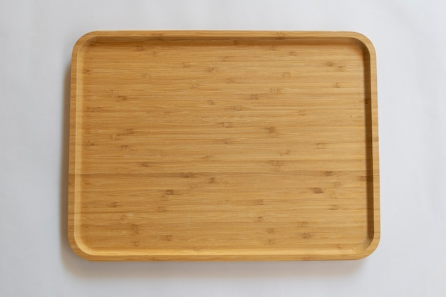 Wooden board made of bamboo