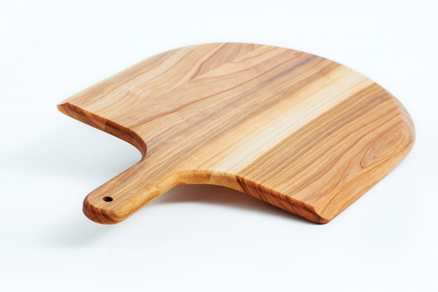 Wooden board texture isolated