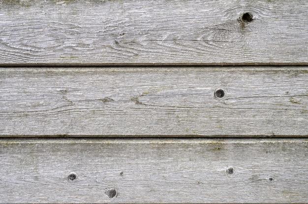 木の板の背景。高齢者の風化灰色の木の板