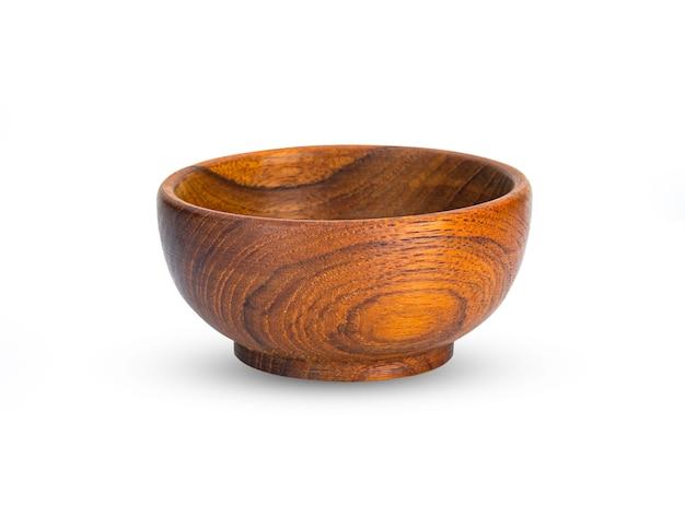 分離された木製のボウル