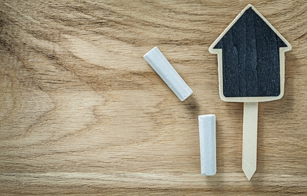 木板農業概念に木製黒板価格記号タグ
