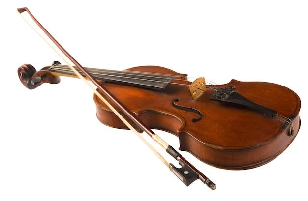 Wooden classic violin