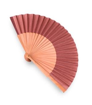 Деревянный вентилятор изолирован