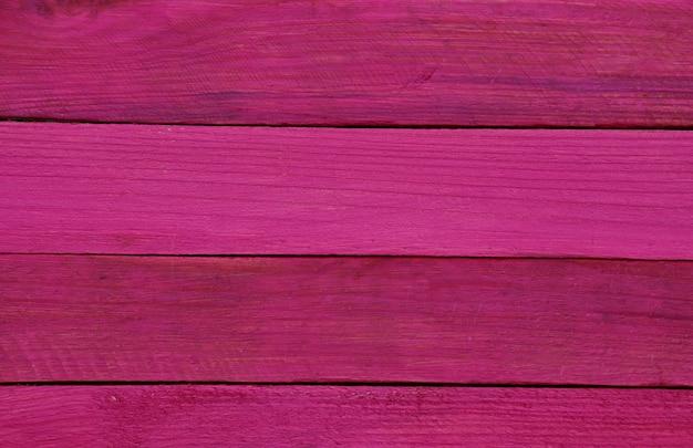 Wooden horizontal dark pink