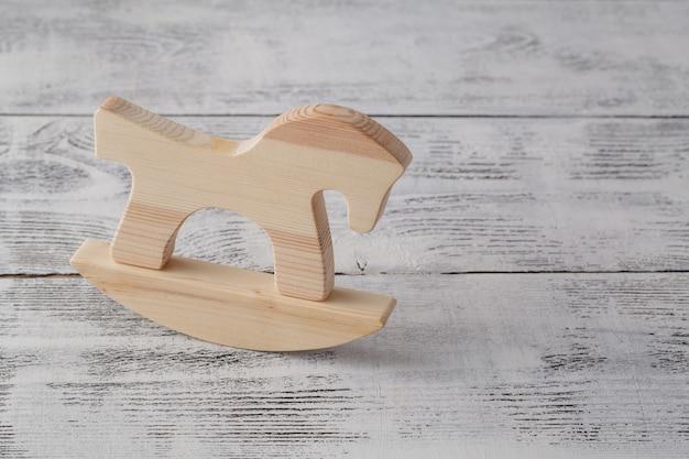 Wooden horse, children's toy