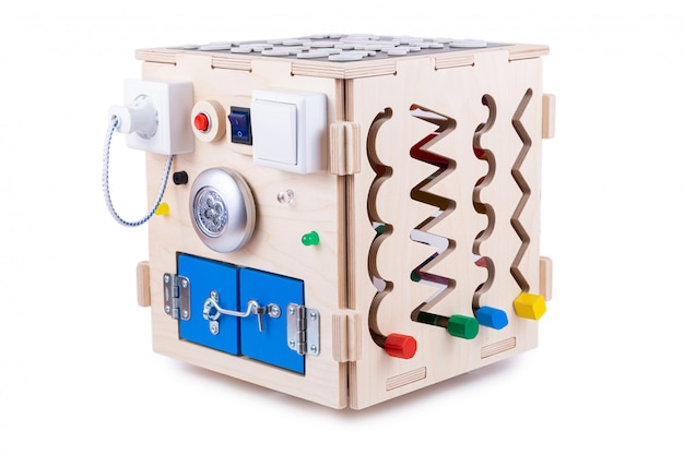 Wooden  house - educational toy for children