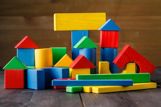 Wooden house (housing loan concept)